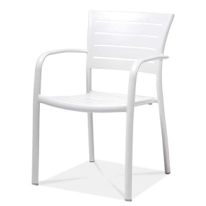 Monaco Stacking Dining Arm Chair