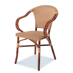 Paris 5A Stacking Dining Arm Chair